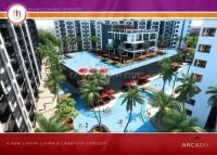Arcadia Beach Resort - Starting at 1.199m Baht condos Продажа в  Центральная Паттайя