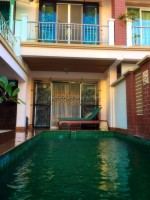 Terrace house with private pool 686412